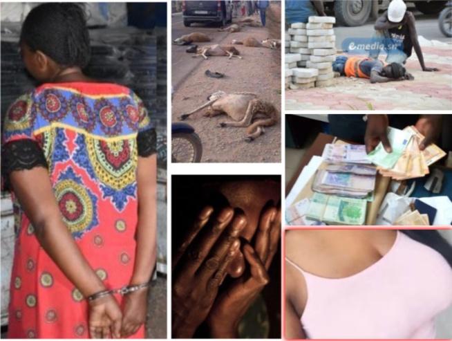 100% Peoples:Faux billet un couple tombe à Guédiawaye mon oncle me viole sama done tué le jour de son anniversaire. Regardez