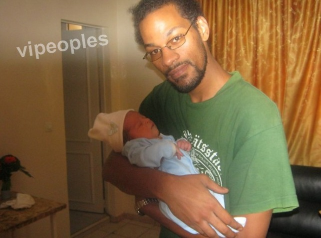 Maxime Emixam Sene et son bébé!