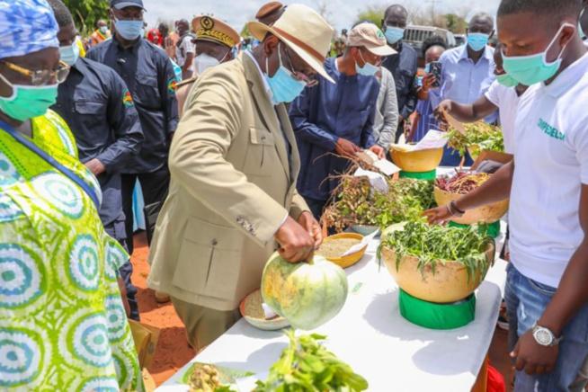 Tournée agricole de Macky Sall: En images, l'étape de Sibassor
