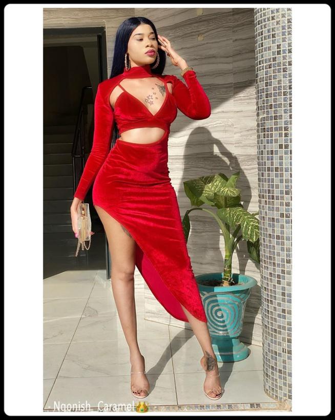Ngonish, l'actrice de la série Moeurs plus sensuelle que jamais