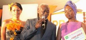 Prix Ivoire 2012 : La Sénégalaise Mariama N'Doye succède à l'Ivoirien Fréderic Grah Mel