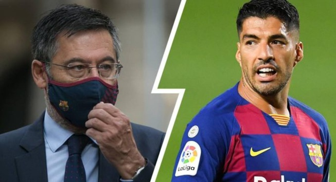 Barça : comment Suarez a battu son president Bartomeu.