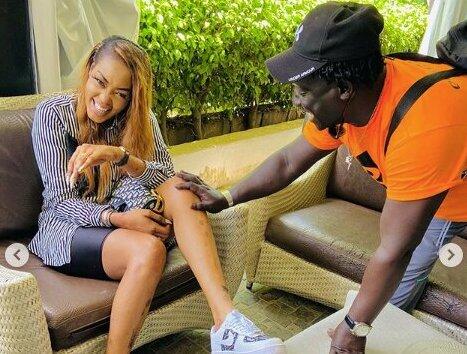 Regardez ce qui se passe dans les coulisses du tournage de la série « Infidèles » avec Ya Awa rassoul et les autres « Mbeut »