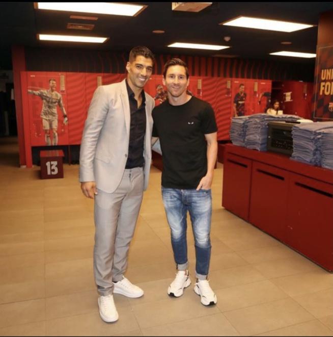 """Messi allume le Barça dans son message pour Suarez: """"tu ne méritais pas qu'ils te jettent comme ils l'ont fait"""""""