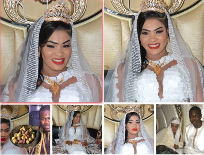 les images du mariage de l' actrice Soumboulou et le mara AD khass incroyable regardez