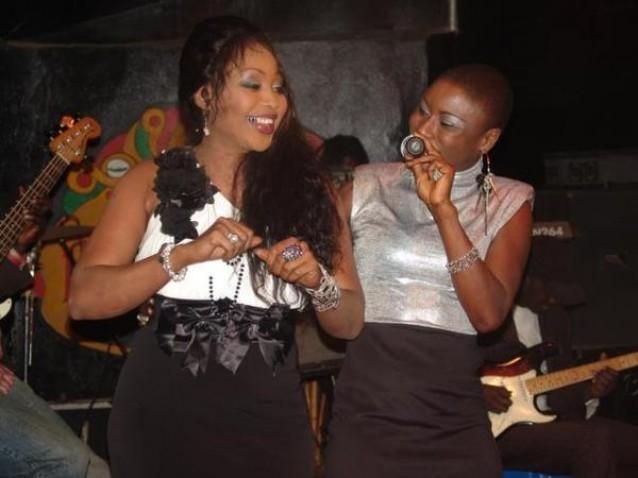 Ma Sané chante en duo avec sa maman, Françoise !!!
