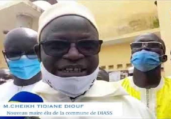 D'emblée, Cheikh Tidiane Diouf, le nouveau Maire de Diass liste les maux de sa Commune: le foncier arraché aux populations locales
