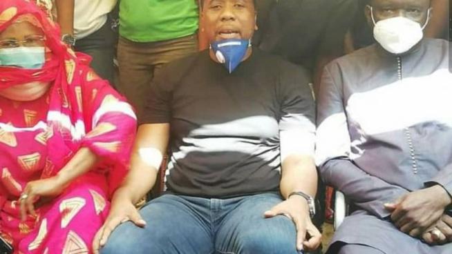 Bougane Gueye réconcilie Mame Diarra Fam et le Maire de Guinaw rails Nord Pape Ndiambé Dieng