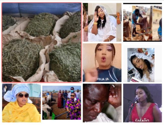 100%peoples: Le adya de Aida Diallo rejeté par le khalife et la famille de serigne saliou,mariage Sala pod &marichou et Salma sentv ,Thione et ses 32 millions....