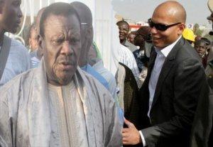 Pavillon spécial : Karim Wade, Omar Sarr et Madické Niang rendent visite à Cheikh Bethio