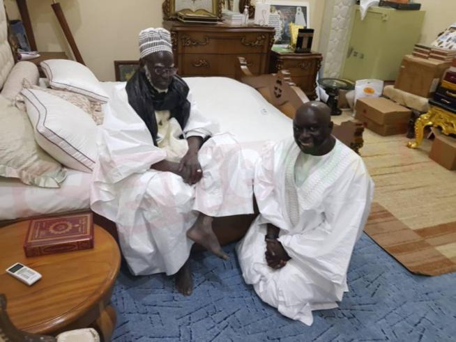 """Serigne Mountakha à Idrissa Seck: """"tout peut arriver, c'est Dieu qui..."""""""