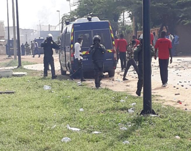 Grabuge à la cité Terme Sud de Ouakam: 79 familles affrontent les gendarmes déployés sur les lieux