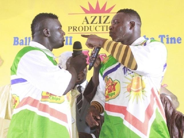 "Balla Gaye 2-Tapha Tine: ""Takh ci rip"" et ""Ninn batt"" huilent le projet du prince Aziz Ndiaye"