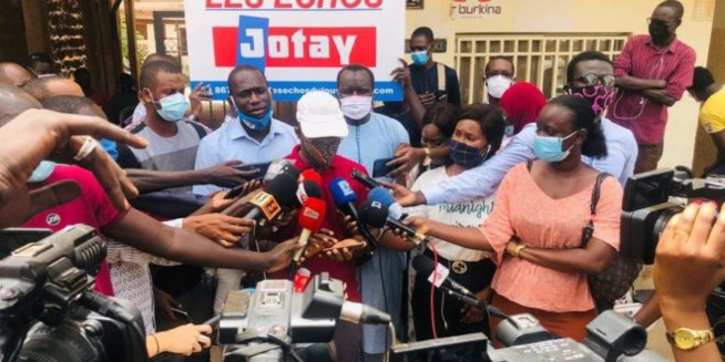 Agression d'Adja Ndiaye de Dakaractu : Voici la lettre de protestation de la Coordination des Associations de Presse du Sénégal adressée à Aly Ngouille Ndiaye
