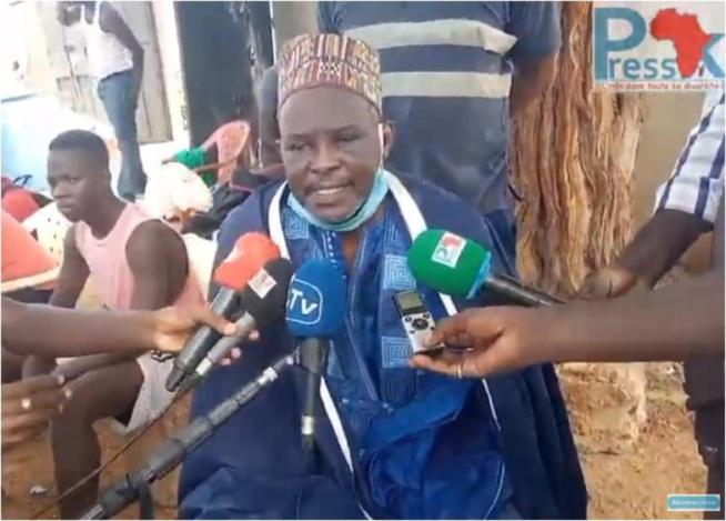 Le Saltigué et président des notables de Ouakam apporte son soutien aux populations déguerpis