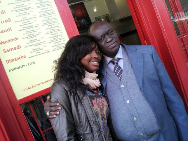 Me Elhadji Diouf et sa fille Maguiie I. Diouf