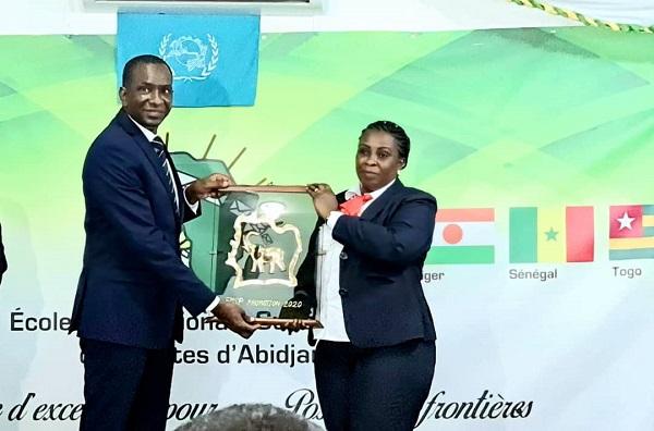 Visite de travail à Abidjan : Abdoul Ly , le DG de l'ARTP, honoré aussi parrain de la « promotion 2020 » de l'EMSP
