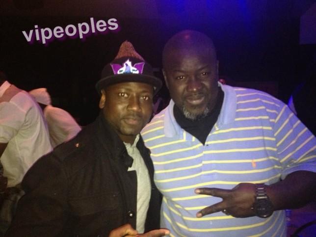DJ BILL PRO et MBAKE DIOUM a barcelone en plain concer de vivivane ndour