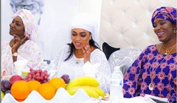 Touba: Sokhna Aida Diallo aperçue chez Serigne Cheikh Saliou Mbacké