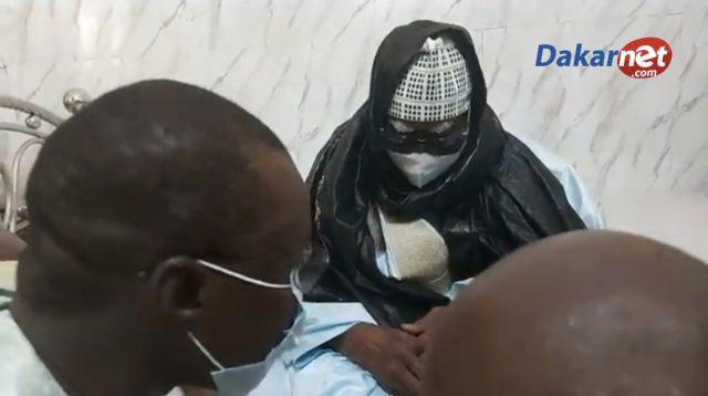Urgent Touba OUSMANE Sonko reçu par Serigne Mountakha
