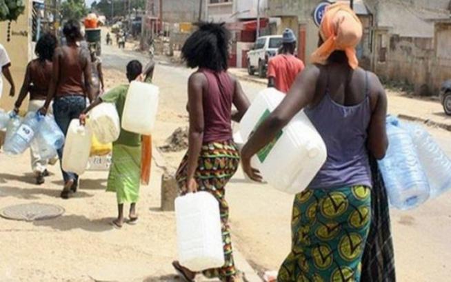 """Pénurie d'eau: Dakar et sa banlieue auront """"soif"""" jusqu'au 08 octobre prochain"""