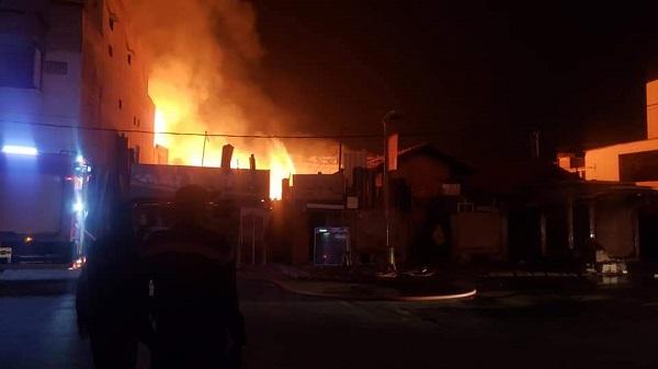 Grave Incendie à Paak lambaye: les images et la vidéo d'une catastrophe