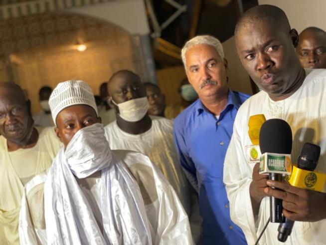 MAGAL 2020 / Cheikh Bass Abdou Khadre réceptionne les chameaux convoyés par la Mauritanie.
