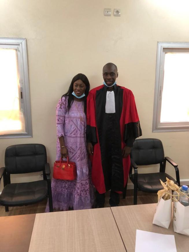 Mamadou Kandji de la CCR décroche son doctorat en Économie avec la mention très honorable