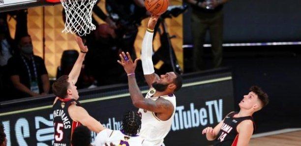 NBA: Les Lakers champions devant Miami, LeBron James, MVP des finales