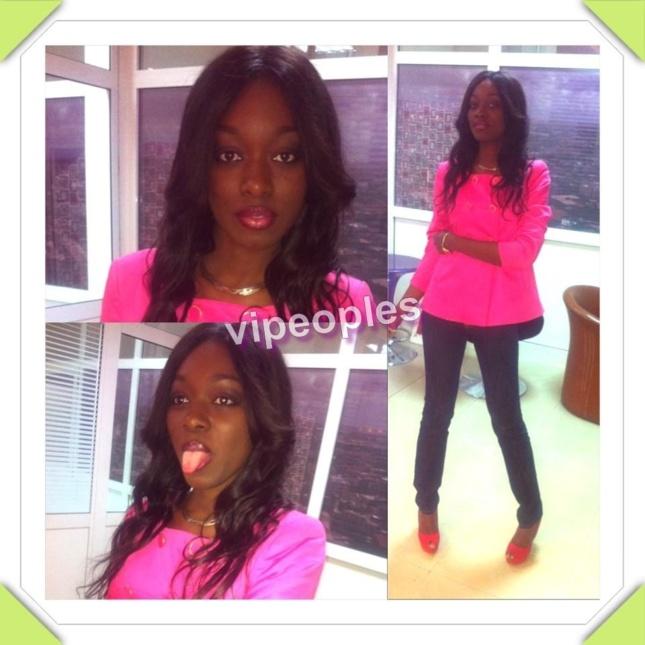 Khady Ndiaye Bijoux tout en rose bonbon