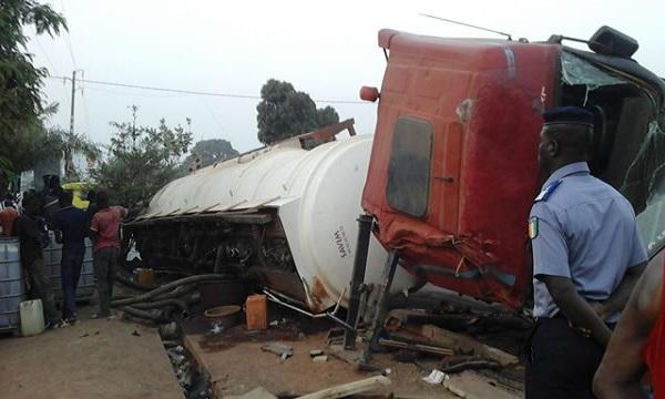 Mbao en danger : les populations alertent sur la fréquence des accidents de camions transportant des hydrocarbures.