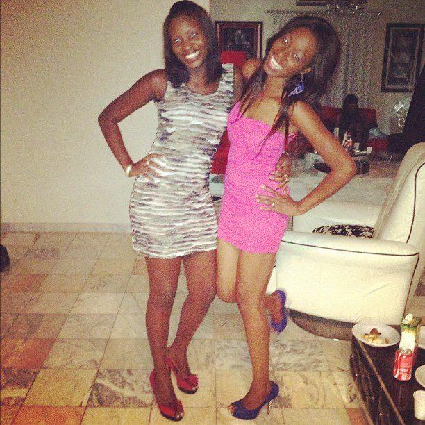Khady Ndiaye Bijoux et une copine
