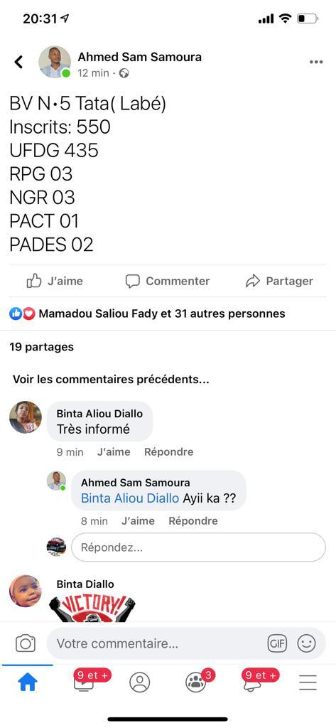 Présidentiel en guinée Cellou Dalein Diallo largement devant