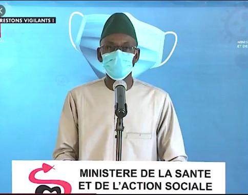 Covid-19: Le Sénégal enregistre 2 décès supplémentaires, 14 nouveaux cas, dont 7 importés