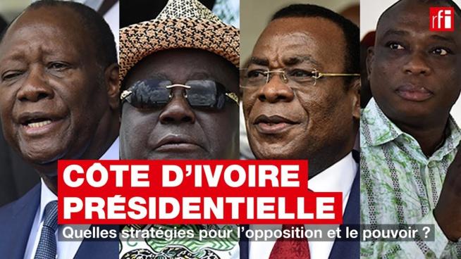 Présidentielle en Côte d'Ivoire: quelles stratégies pour l'opposition et le pouvoir?