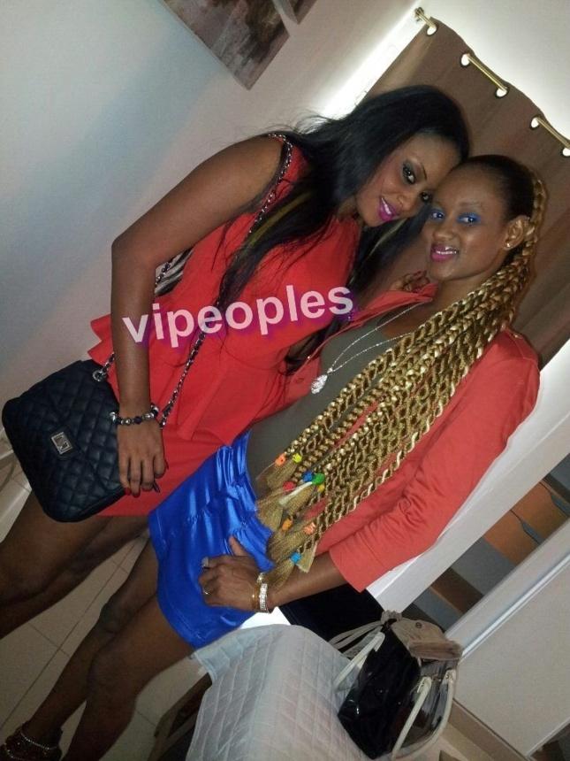 Khadija Diallo et une copine