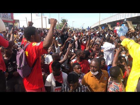 Dakar: Des Guinéens contestent les résultats de la CENI et affrontent les forces de l'ordre