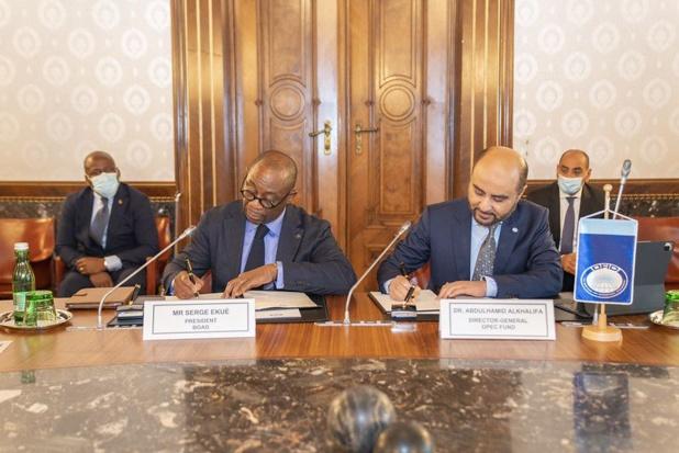 Développement des pays membres de l'Uemoa : Le fonds Opep et la Boad nouent un accord de coopération