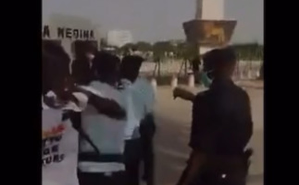 Manifestation contre les propos de Macron sur l'Islam: Karim Xrum Xax et Cie arrêtés