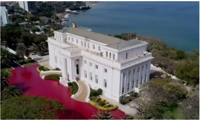 Le Palais présidentiel menacé d'éboulement