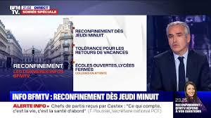 Un reconfinement est-il envisagé par le gouvernement français?