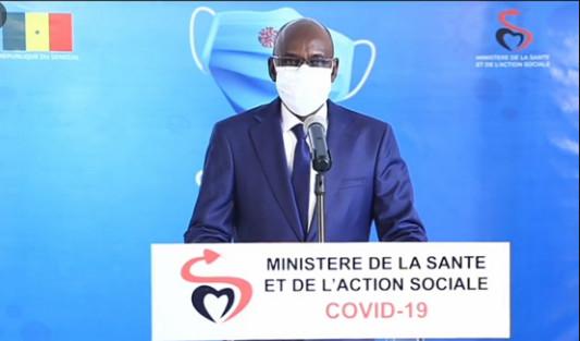 Covid 19: Le Sénégal enregistre 11 nouveaux cas positifs