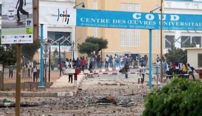 Ucad: Deux blessés graves lors d'une manifestation