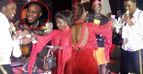 Wally Seck chante Mo Gates, Awa Baldé, Ndiolé et Niang Kharagne l'arrosent de billets