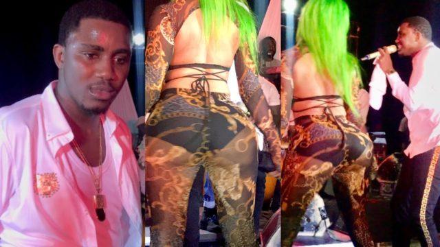 Kawtef-Soirée Wally Seck : A moitié nue, cette femme débarque sur la scène et danse un twerk