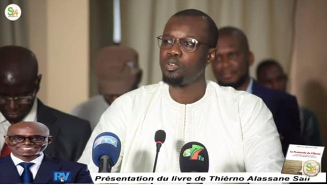 Ousmane Sonko : « Macky Sall mettrait Thierno Alassane Sall en prison, s'il en avait l'occasion »