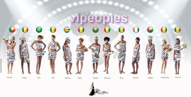 Les finalistes de Miss West Africa arrivent, vous preferez qui?