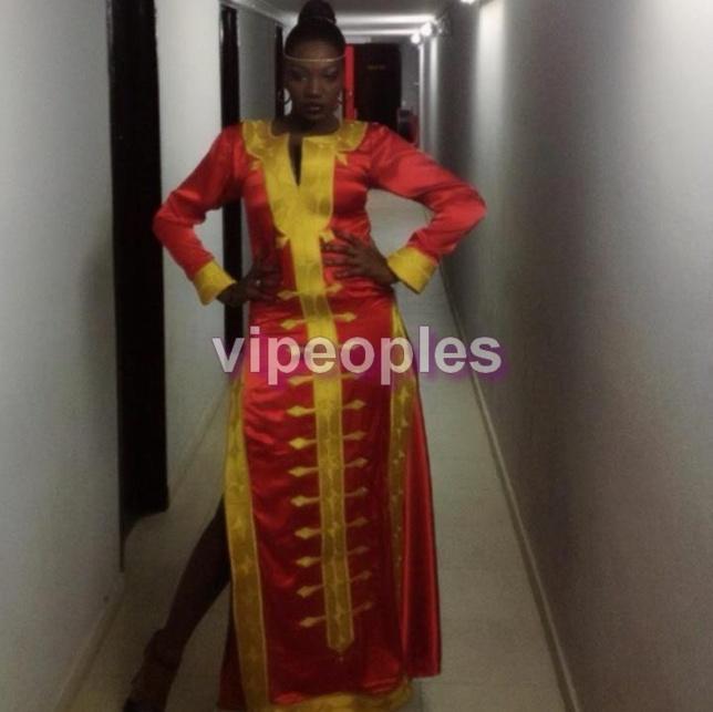 Le look de Samira Nicky Diop qui fracasse!