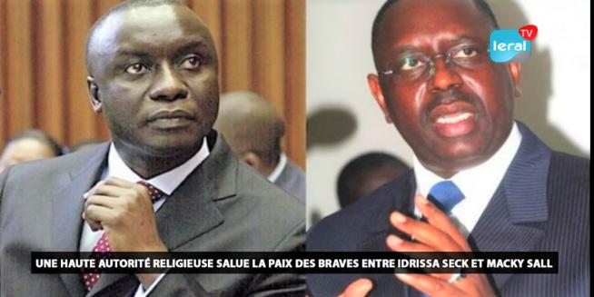 Fuite Audio - Une haute autorité religieuse salue la paix des braves entre Idrissa Seck et Macky Sall