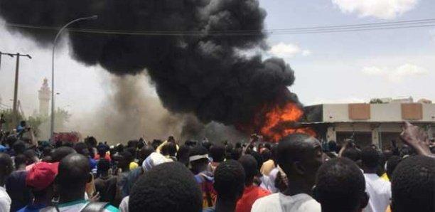 Incendie au marché Ocass : Le beau geste du ministre de l'Intérieur aux commerçants impactés